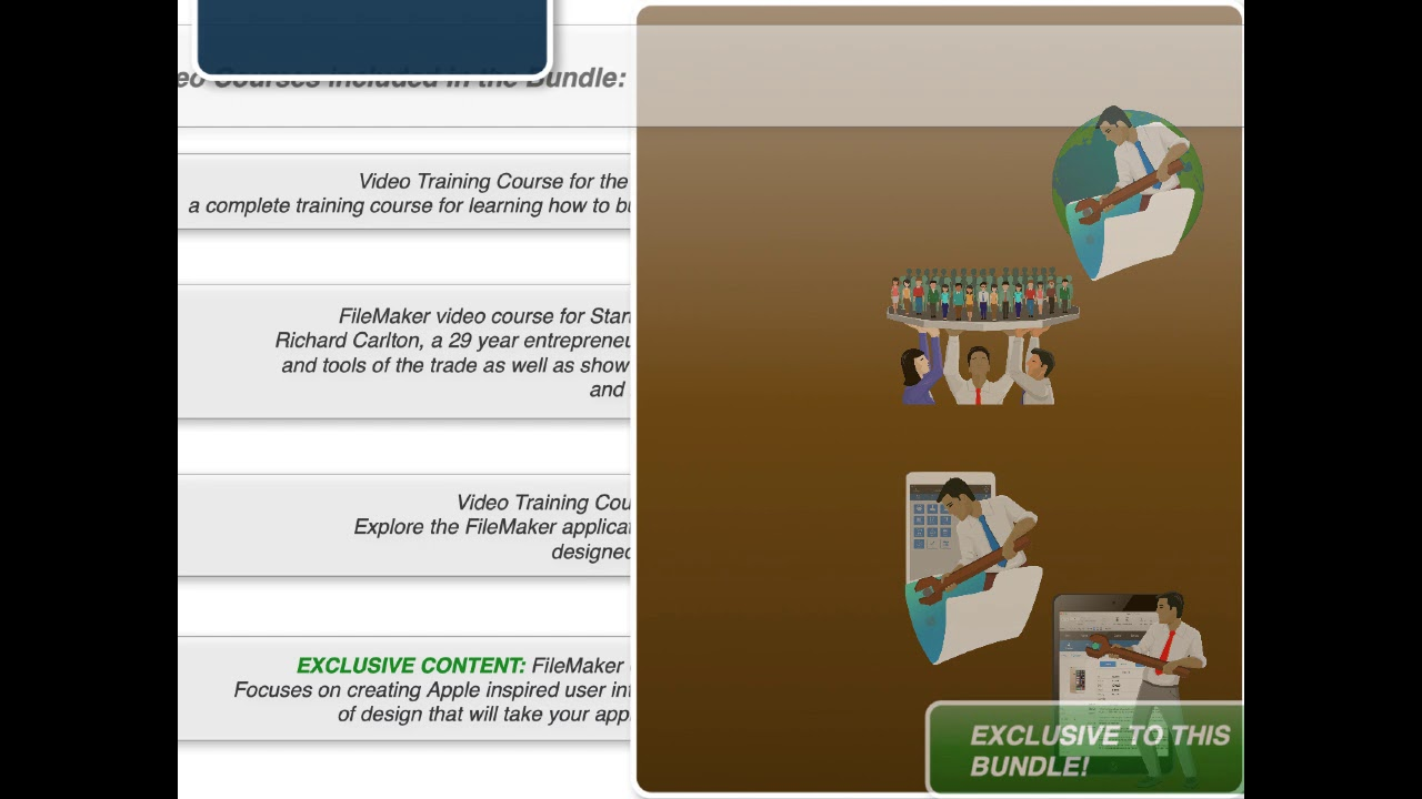 Learning FileMaker Video Only Bundle