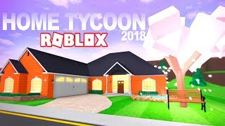 CREATING THE HOUSE OF MY DREAMS IN ROBLOX!!! - ROBLOX HOME TYCOON 2018 in Spanish