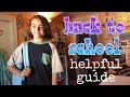 guide for back to school || angie