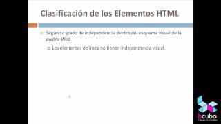 Tutorial HTML 1 - Introducción y conceptos básicos de HTML