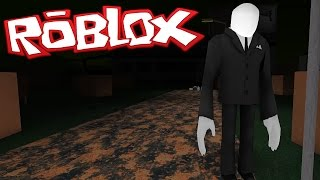 ROBLOX - Slender Can Kill Through Walls?!! [Xbox One Edition]