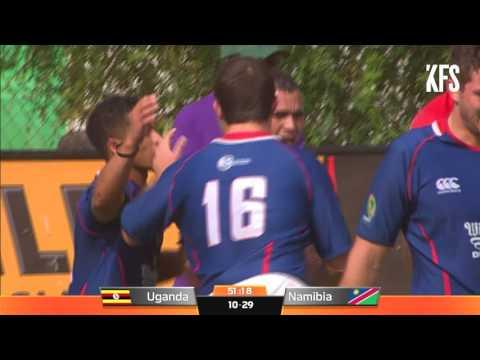 Rugby Africa Gold Cup : UGANDA v NAMIBIA