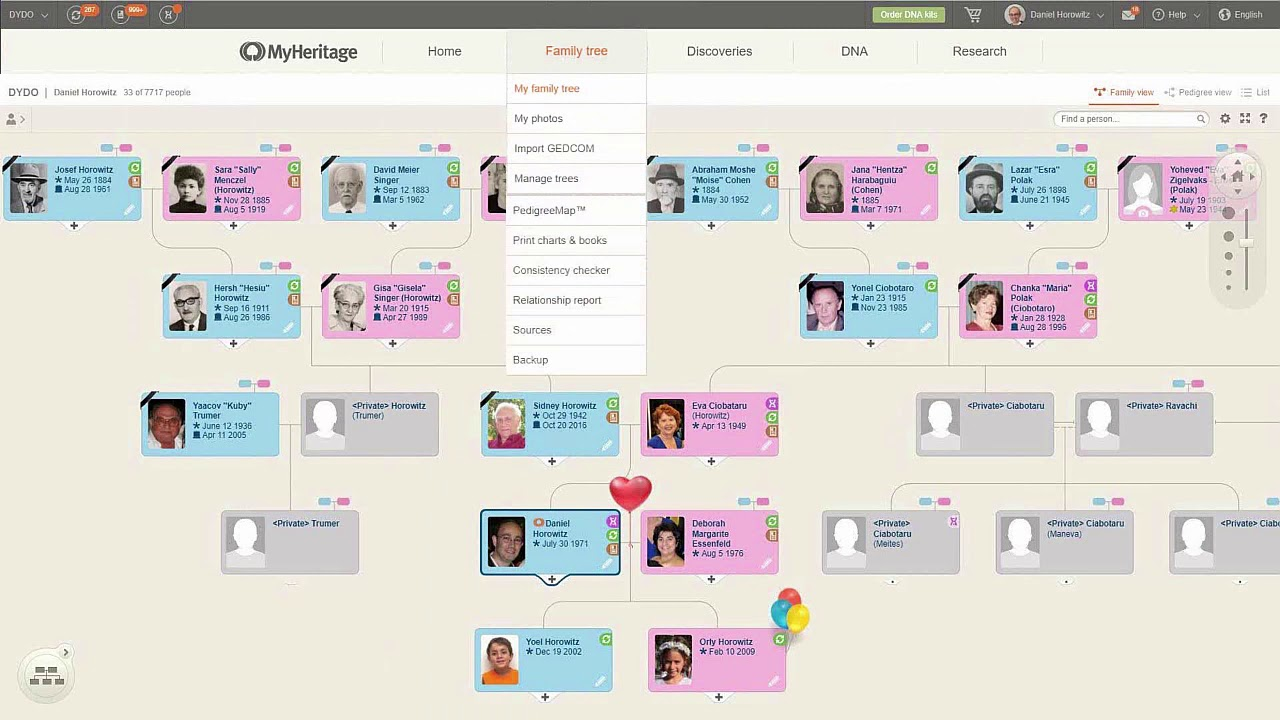 MyHeritage: New Advanced Features and Technologies - YouTube