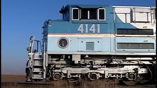Union Pacific KSGAP2-28 (w/UP 4141) on Peoria Sub - Oct. 31, 2008