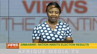 Zimbabwe : nation awaits election results