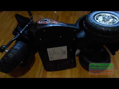 Ремонт детского мотоцикла на аккумуляторе модель TR991