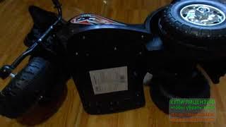Ремонт дитячого мотоцикла на акумуляторі модель TR991