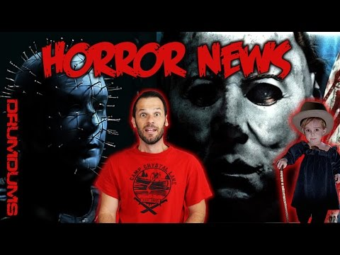 DRUMDUMS HORROR NEWS! Pet Sematary Remake + Halloween/Hellraiser Crossover!