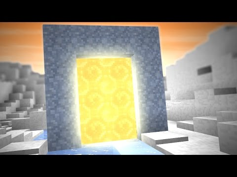 PORTAL TO AN ICE DIMENSION! (5 Minecraft Things)
