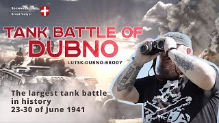 Tank battle of Dubno-Brody. 1941 [The largest tank battle in history]