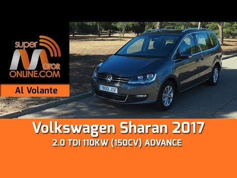 Volkswagen Sharan 2017 / Al volante / Prueba dinámica / Review / Supermotoronline.com
