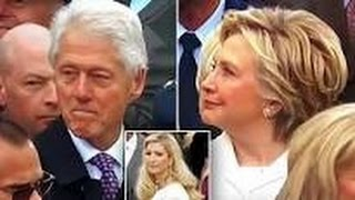 Bill Clinton Caught By Hillary Checking Out Ivanka Trump