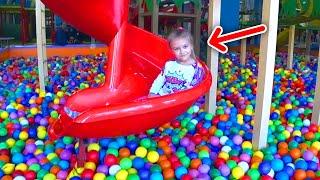 Детская площадка для детей с Ярославой | Indoor Playground for kids