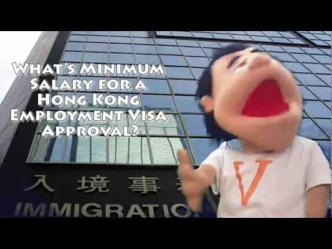 Minimum Salary for a Hong Kong Employment Visa Approval? - What Hadley Says