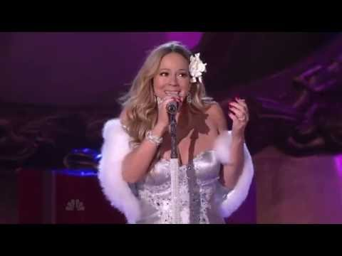 Mariah Carey - Rockefeller Center Isolated Mic Feed (Christmas Time Is In the Air Again)