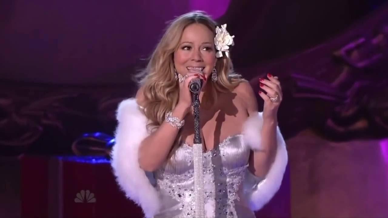 Mariah Carey - Rockefeller Center Isolated Mic Feed (Christmas ...