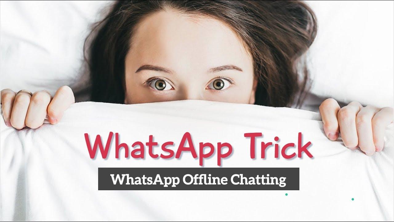 WhatsApp Offline Chatting Trick | WhatsApp Trick | How To Chat Offline | WhatsApp hide online Status