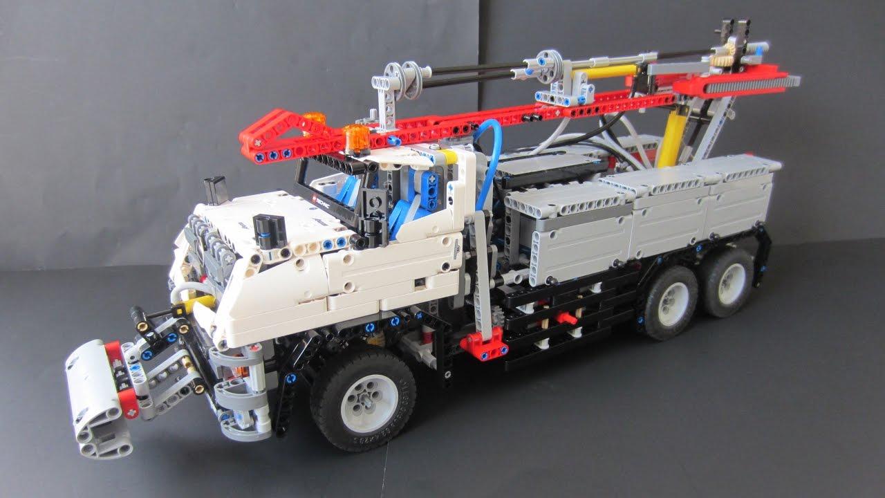 42043 C model: Drill Rig (2200 pcs!) - BrickbyBrick's LEGO Technic