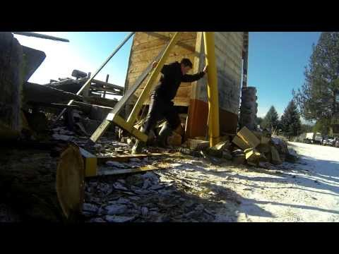 100 lb. Homemade Splitting Maul