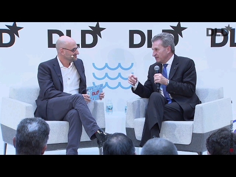 Between Bits and Budgets State Of The EU (Guenther Oettinger, European Commission) | DLD17