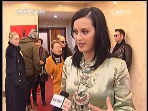 Katy Perry roars into Beijing