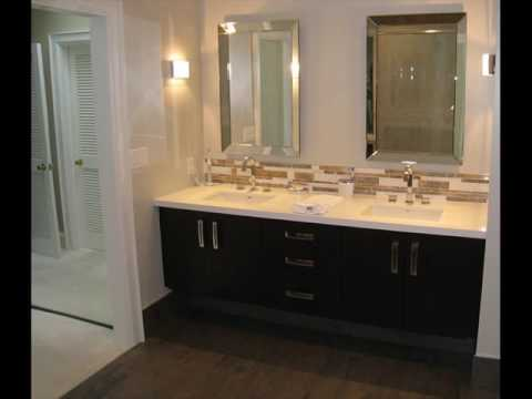 Double Sink Vanity Small Bathroom Design Ideas