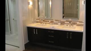 Double Sink Vanity Small Bathroom Design Ideas