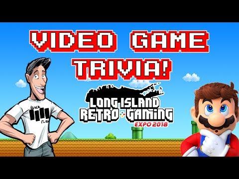 Video Game Trivia at The LI Retro Game Expo 2018