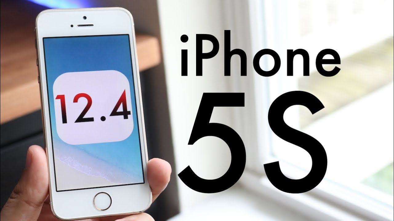 iOS 12.4 OFFICIAL On iPhone 5S! (Review)