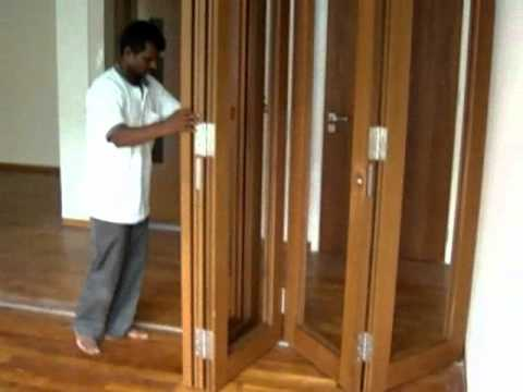 Dormatic Timber Folding Door Youtube