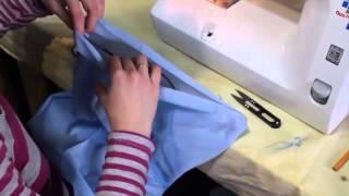 Как сшить мешок для игрушек