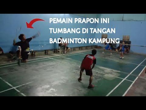 Badminton Pb.bahtera Vs Pb.kimia Farma Balikpapan
