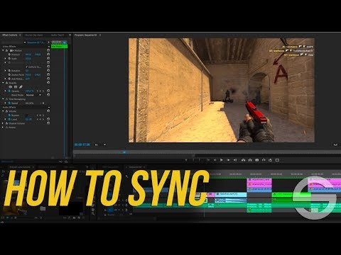 CS:GO - Gun Sync - fragmovie tutorial