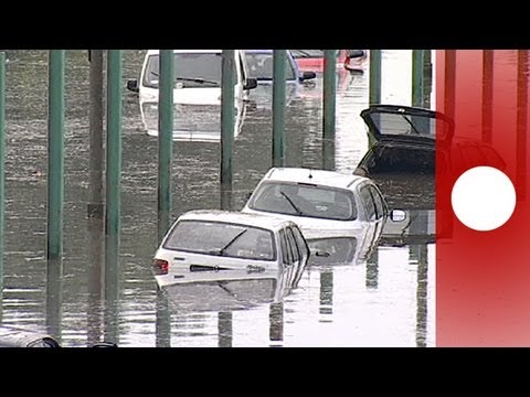 Central Europe record floods force thousands to evacuate