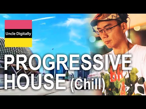 Chill Out Trance Progressive - Singapore Cityscape