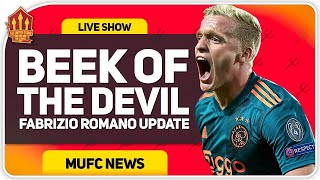 Romano Van De Beek Update! Man Utd Transfer News