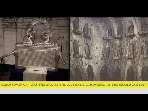 Ark of the Covenant Discovered in Grand Canyon? The Cover Up, Dick Allgire