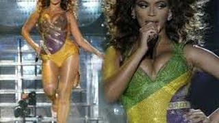 Beyonce cantando e dancando Leke Leke no Brasil