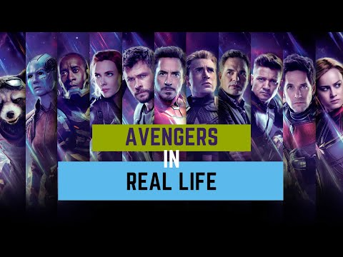 AVENGERS:  Real Life funny moments