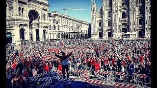 Gate 7 Olympiacos In Milano | UEL - Ultras Way✔