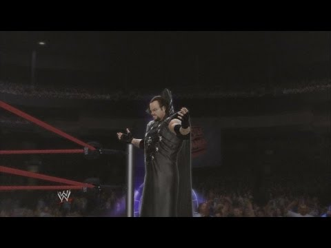 WWE 2K14 - Wrestlemania XIV: The Undertaker vs Kane w/ Paul Bearer