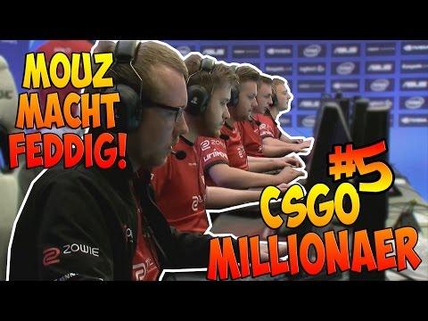 Mouz macht feddig! CS:GO Millionär #5