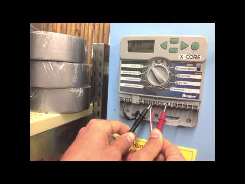 Timer Wiring Diagram Peterbilt 379 Troubleshooting Your Irrigation Control System With A Volt Ohm Meter - Youtube