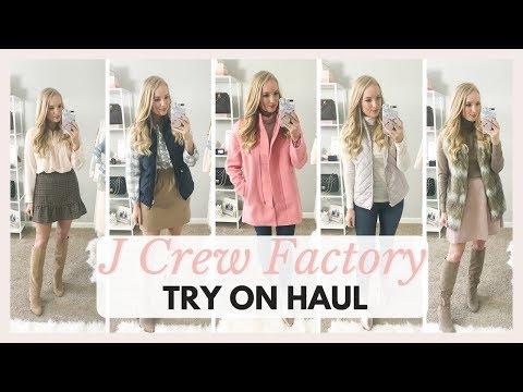 J CREW FACTORY TRY ON HAUL FALL OUTFITS 2018 | Amanda John