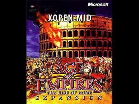 Age Of Empires: Rise Of Rome Soundtrack - MIDI - Windows XP Media Player
