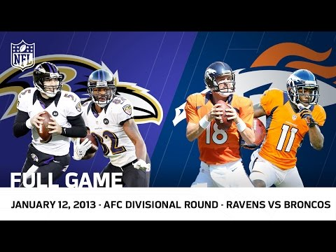 2012 AFC Divisional Playoffs | Ravens vs. Broncos (FULL GAME
