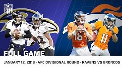 Flacco's Hail Mary | Ravens vs. Broncos 2012 AFC Divisional Playoffs | NFL Full Game