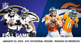 Flacco\'s Hail Mary | Ravens vs. Broncos 2012 AFC Divisional Playoffs | NFL Full Game
