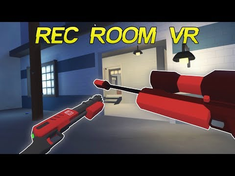 Rec Room VR - Funny/Epic Moments   First Ever VR Video!