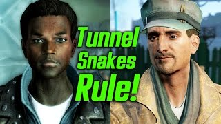 Fallout 4 - MacCready s Tunnel Snakes Rule Easter Egg